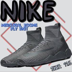 Nike mercurial zooms  flyknit  size 11.5 mens